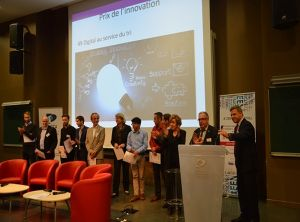 prix innovation-Polytechnique-16 juin 2016-Fred-rouge-digital au service du tri avec Suez innovation