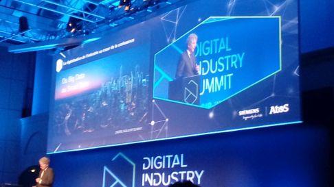 Thierry Breton à l'ouverture du salon Digital industry summit-DR